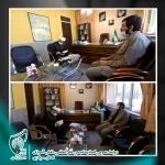 دیدار با ریاست سازمان تبلیغات اسلامی استان مرکزی