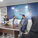 حضور صادق نجفی سرپرست اتحادیه انجمن های اسلامی دانش آموزان استان مرکزی