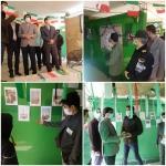نمایشگاه مدرسه انقلاب افتتاح شد