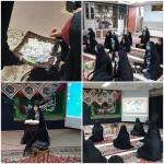 جشن میلاد بانوی دو عالم با حضور دختران انجمنی شهرستان اراک
