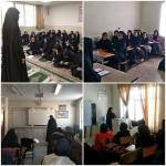 اعزام مبلغین دانش آموزی به دبیرستانهای دخترانه شهرستان اراک