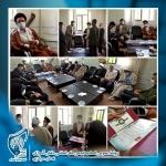 آیین تکریم و معارفه مسئول اتحادیه شهرستان شازند