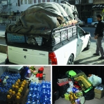 ارسال کمکهای غیرنقدی  انجمن های اسلامی مدارس استان مرکزی به مناطق زلزله زده