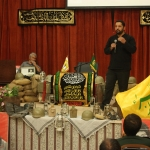 مراسم یادواره شهدای دبیرستان شهید بهشتی برگزار شد.