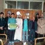 اعضای انجمن اسلامی مدارس شاهد شهید نجفی و شاهد امام (ره) از خانوادهای شهدا دیدار کردند.