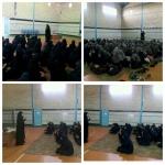 جلسه هیئت انصارالمهدی به مناسبت ایام شهادت حضرت زهرا (س) در شهر هندودر برگزار گردید.
