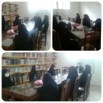 جلسه دانش آموزان مسئول انجمن با جناب آقای کاظمی مسئول اتحادیه انجمن های اسلامی دانش آموزان شهرستان زرندیه