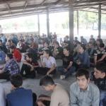 برپایی اردوی یک روزه دانش آموزان پسر متوسطه اول