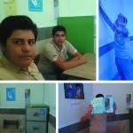 تحویل اتاق انجمن اسلامی مدرسه ی حاج حسین ترابی(علامه حلی 1)