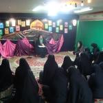 هیئت انصارالمهدی خواهران شهرستان اراک به مناسبت میلاد حضرت زینب(س) برگزار شد