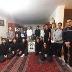 حضور کاروان در_مسیر_بهشت در منزل شهید