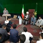 حضور حجت السلام و المسلمین حاج علی اکبری در جمع صمیمی پسران انجمنی