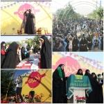 جشن بزرگ دخترانه با حضور حجت الاسلام و المسلمین سرلک برگزار شد.
