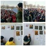 مراسم بزرگداشت سردار بزرگ اسلام سپهبد حاج قاسم سلیمانی توسط انجمنی های هندودر