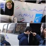 جوانه های انقلاب صبح امروز برای وداع با سردار دلها روانه قم شدند