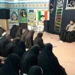 سوگواری دانش آموزان انجمنی ساوه در شب شهادت رئیس مکتب شیعه جعفری