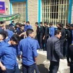 برگزاری زیارت عاشورا در دبیرستان شهید بهشتی اراک