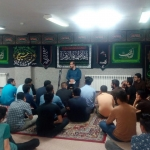 برپایی هیئت انصار المهدی به مناسبت شهادت امام جعفر صادق علیه السلام