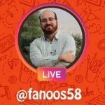 گفتگوی زنده با احسان منصوری خالق کتاب دایی