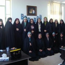 بازدید از اتحادیه واحد خواهران شهرستان  شازند