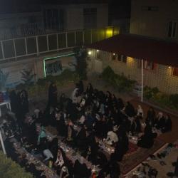 مراسم افطار تا سحر ویژه دانش آموزان دختر