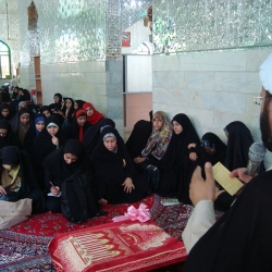 اردو یک روز به مناسبت میلاد امام رضا ویژه دختران انجمنی