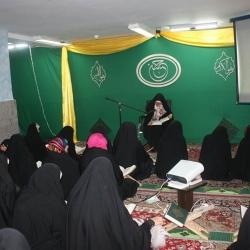 مراسم افطاری خواهران