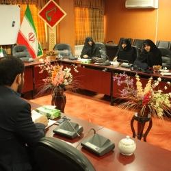 نشست هماهنگی اجرای طرح و برگزاری یادواره های لشگرفرشتگان با حضور رئیس بسیج جامعه زنان استان