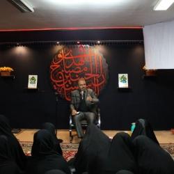 مراسم هیئت دانش آموزی انصارالمهدی ویژه خواهران به مناسبت ایام محرم