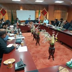 نشست مشترک مسئولین اتحادیه با فرمانده بسیج دانش آموزی