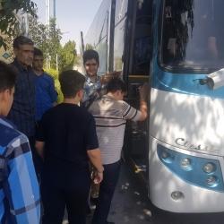 اعزام بیش از 120 دانش آموز به مشهد مقدس