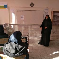 اعزام مبلغ دانش آموزی به دبیرستان عفاف