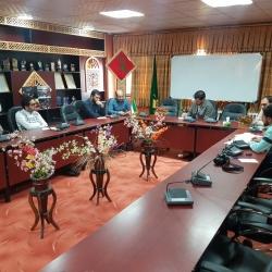 جلسه مسئول استان با کادر اتحادیه