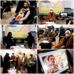 مراسم تجلیل از دختران شهدای دانش آموز مدافع حرم تیپ فاطمیون شهرستان دلیجان برگزار شد
