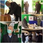 بازدید نماینده مردم خمین در مجلس شورای اسلامی از نمایشگاه مدرسه انقلاب