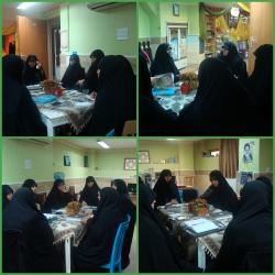 جلسه مربیان واحد خواهران