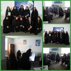 بازدید از اتحادیه واحد خواهران شهرستان محلات