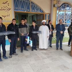 مراسم تجلیل از اعضای هیئت مرکزی دبیرستان های شکرایی و حاج کاظمی
