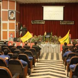 مراسم یادواره شهدای دبیرستان شهید بهشتی