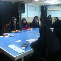 جلسه قرارگاه شهری خواهران