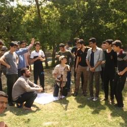 اردوی یک روزه دانش آموزان عضو انجمن اسلامی مدارس شهرستان اراک، در اردوگاه پنجعلی