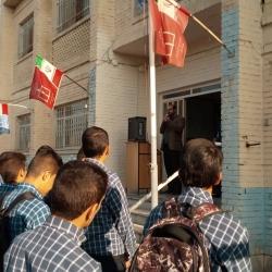 تکریم و معارفه مسئولین انجمن های اسلامی دبیرستان پسرانه شهرستان اراک