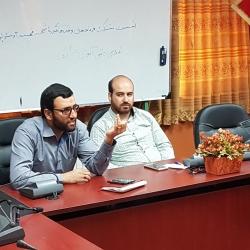 نشست مشترک فرماندهان واحدهای حوزه شهید فهمیده ۳ و مسئولین انجمن های اسلامی مدارس ناحیه ۲ اراک