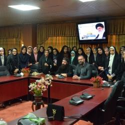 نشست افق نو با حضور راهب مسیحی