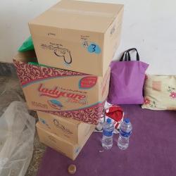 ارسال کمک های اعضای انجمنهای اسلامی استان مرکزی به مناطق سیلزده