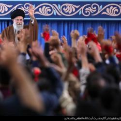 دیدار با رهبر معظم انقلاب به مناسبت ۱۳ آبان