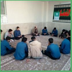 خیمه معرفت دبیرستان شهید بهشتی